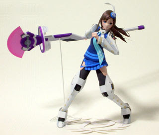 Lumia Waber Papercraft Phantasy Star Portable 2