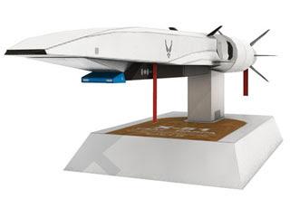 Boeing X51A Waverider Papercraft Scramjet
