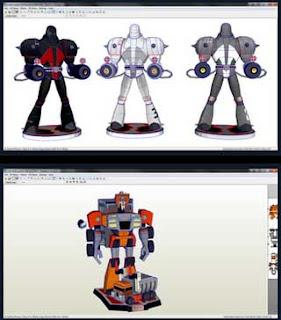 WreckGar Omega Spawn Papercraft