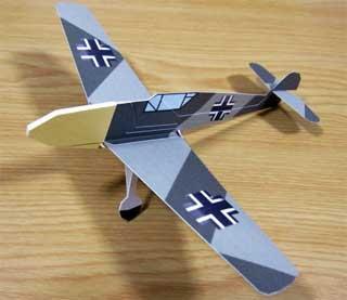 Messerschmitt BF109 Papercraft