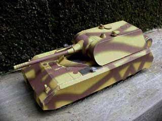 Panzer VIII Maus Tank Papercraft