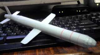 BGM 109 Tomahawk Papercraft