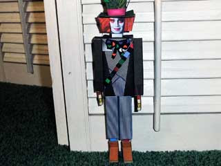 Mad Hatter Papercraft Johnny Depp Version
