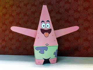 PatrickStar Paper Toy