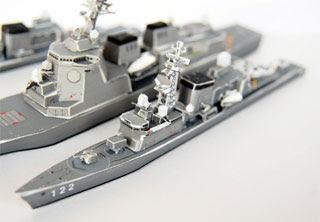 Hatsuyuki class Destroyer Papercraft