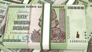 Zimbabwe Banknote Papercraft