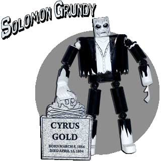 Solomon Grundy Papercraft