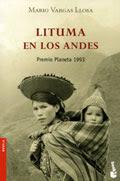Mario Vargas Llosa. Lituma en los Andes