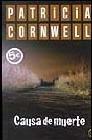 Patricia Cornwell. Causa de Muerte
