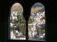 una vista desde la Alhambra