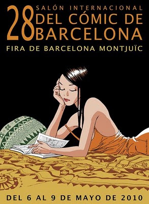 cartel del 28 salón internacional del comic de barcelona