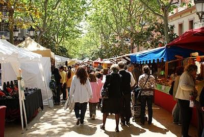 Feria artesanal, la foto es de Dabelop