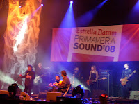Enrique Morente y Lagartija Nick en el Primavera Sound 2008