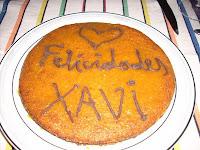 el pastel de cumpleaños
