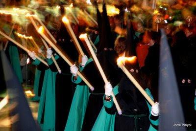 procesiones de Semana Santa en l'Hospitalet, foto de Jordi Pinyol