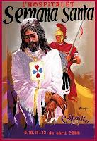 Cartel de las procesiones de Semana Santa 2009 de l'H