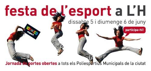 Bloghospitalet fiesta del deporte 2010 for Piscinas municipales hospitalet