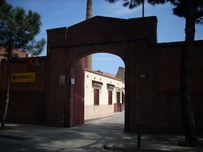 sede de Sanroma, en l'Hospitalet de Llobregat