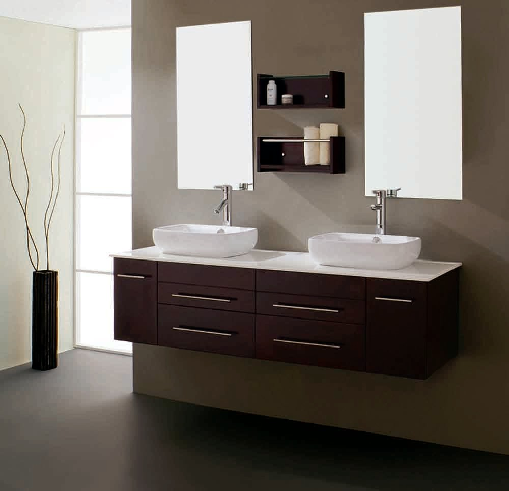 Floating Bathroom Vanity - Bathroom Cabinets & Vanities
