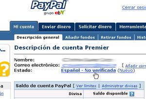 paypal en español numero