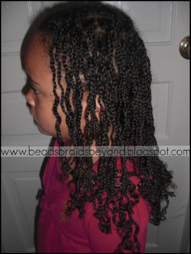 I know you read in *this* post that I believe box braids are very versatile.