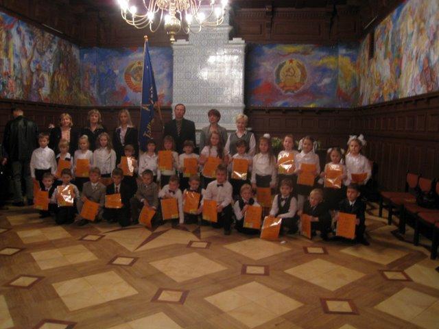 Посвящение в ученики. Октябрь 2008г.