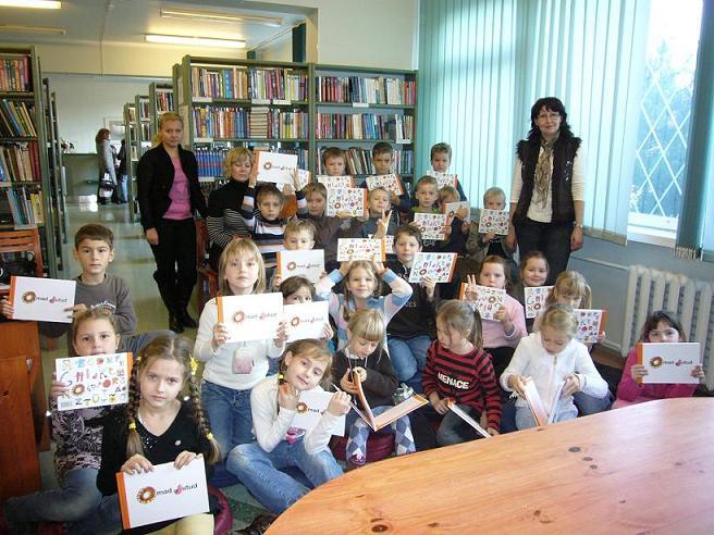 Посещение библиотеки Лаагна.