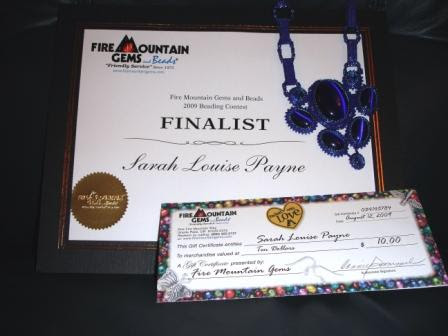 Fire Mountain Gems Beading Contest results