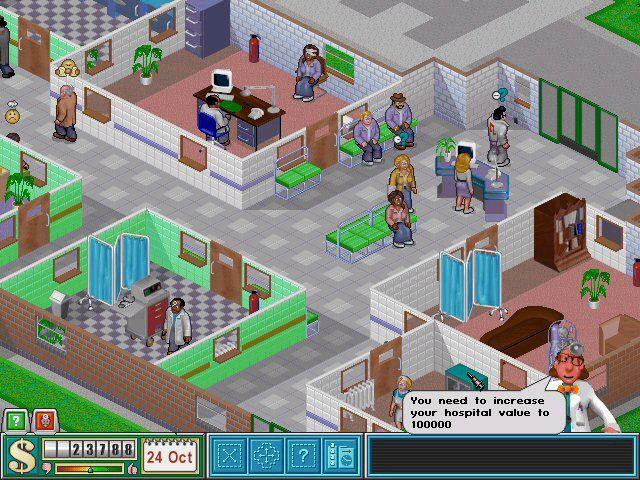Theme Hospital Radiators In Room