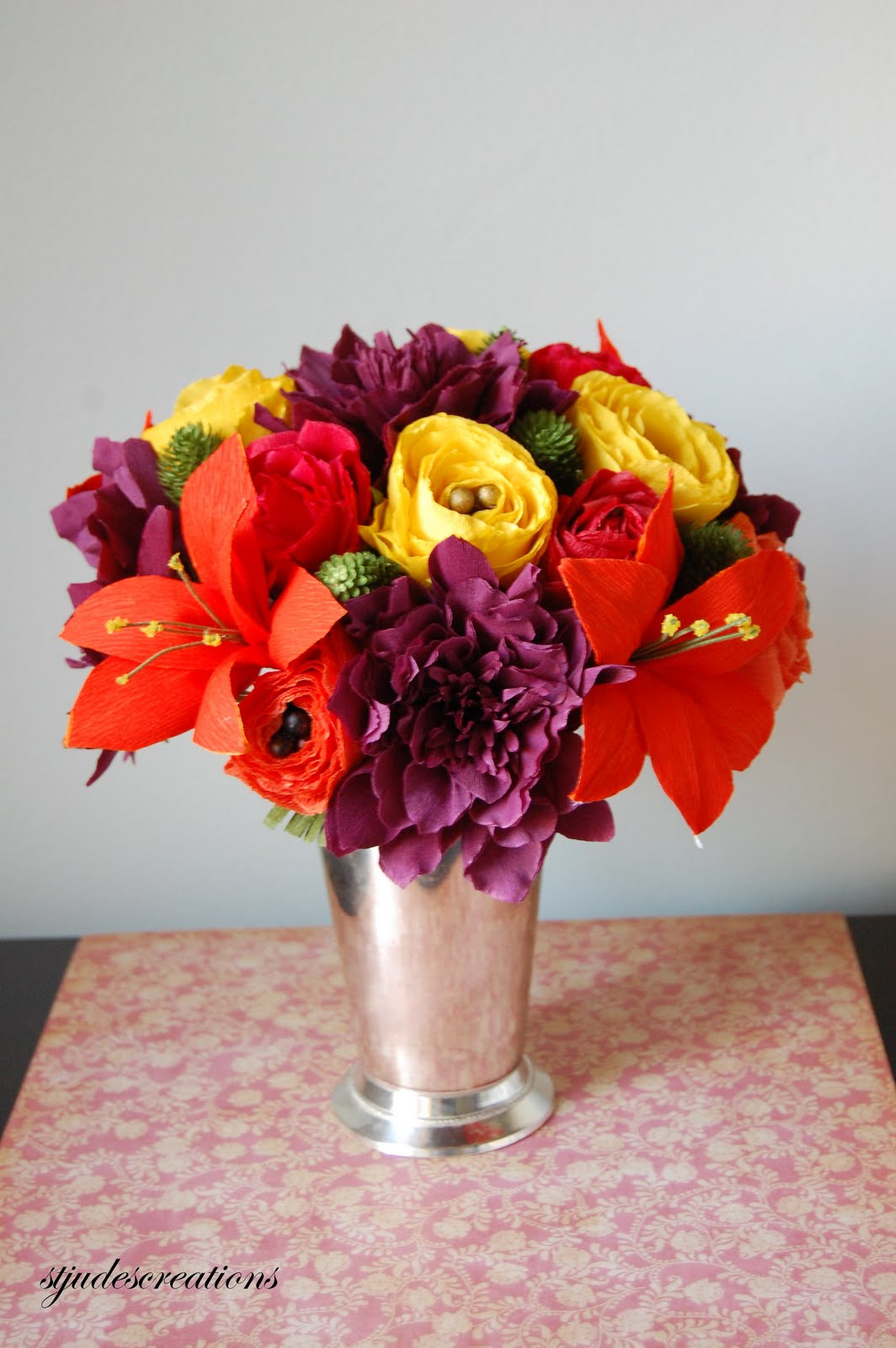 Paper flowers izmirmasajfo