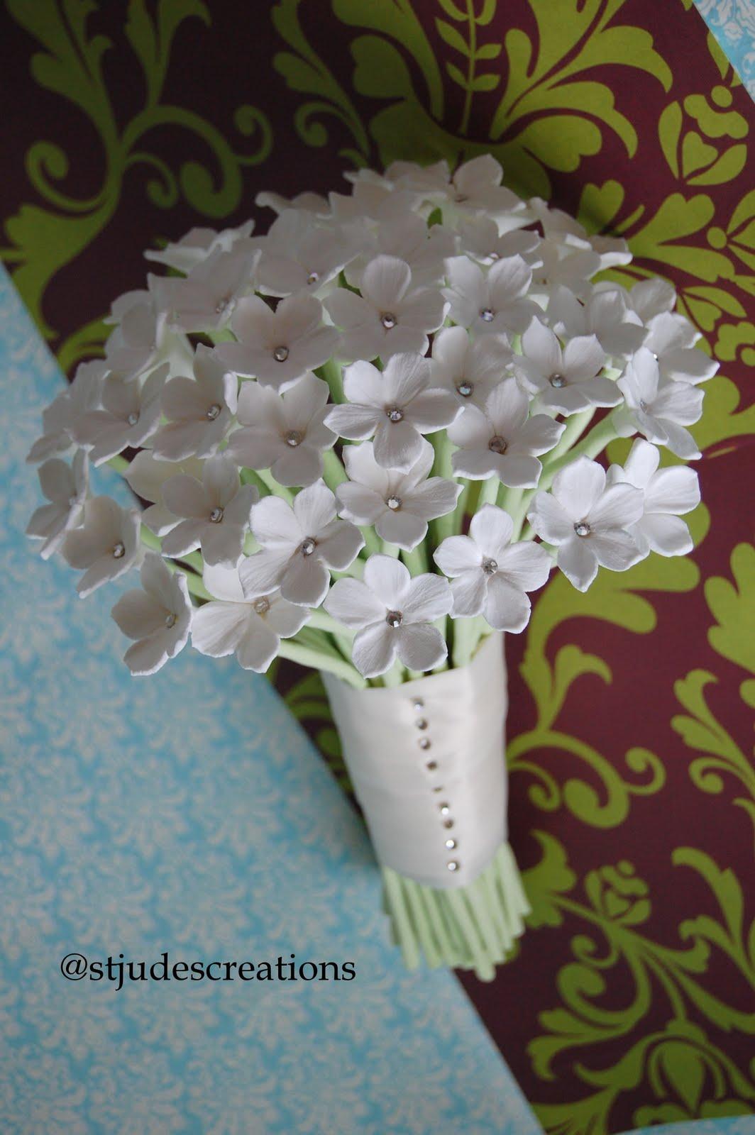 White stephanotis wedding bouquet for elizabeth olave handmade white stephanotis wedding bouquet for elizabeth olave izmirmasajfo