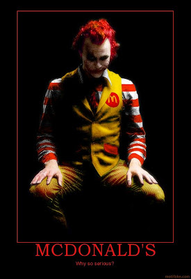 ronald mcdonald joker