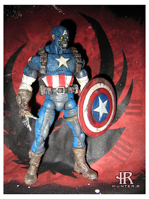 Custom Captain America Android action figure by Hunter R. Click through for