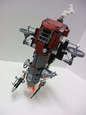 Basilisk War Droid. Lego Steampunk Slave 1 by