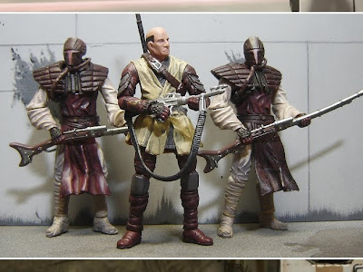 Taantar Raiders custom action figures by Chewie.