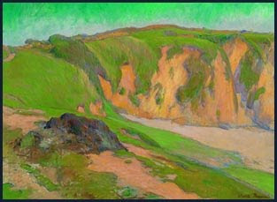 Bernard: Cliffs at Le Pouldu