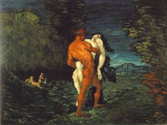 Cézanne: The Abduction (1867)