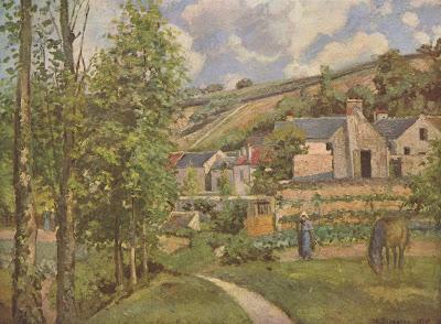 Pissarro: Landscape at Pontoise (1874)