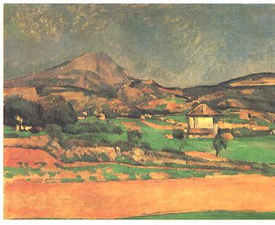 Cézanne. Mont Sainte Victoire. 19