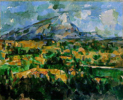 Cézanne. Mont Sainte Victoire.