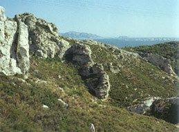 cézanne Rochers à l'Estaque