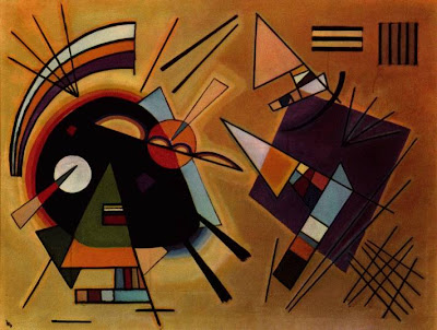 Kandinsky Black and Violet