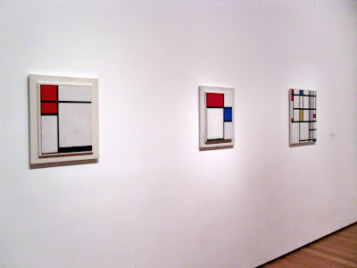 Mondrian. gallery wall