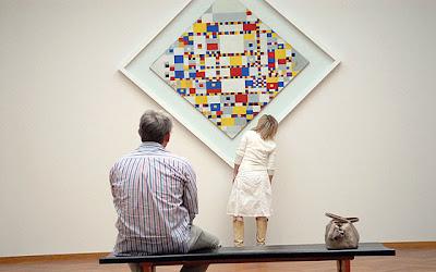 Mondrian. Victory Boogie-Woogie gallery wall