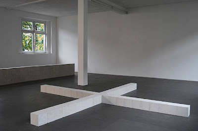 Carl André. 41st Dolomite Integer + Trier 1985-1987
