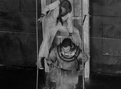 Buster Keaton The Navigator cuts suit