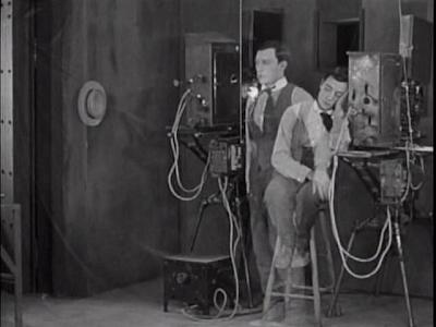 Buster Keaton. Sherlock Jr.