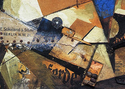Schwitters. The 'And' Picture, detail