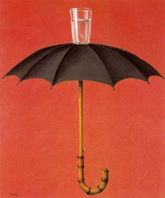 Magritte.  Hegel's Holiday
