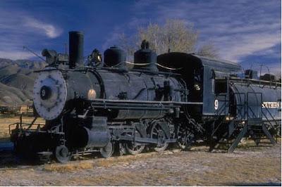 steam locomotive cylinder